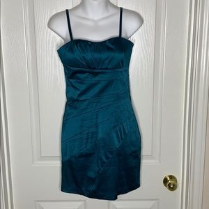 ⭐️ Forever 21 Mini Dress Teal Size Small
